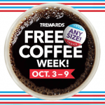 7-Eleven 7Rewards App – Get Any Size Hot Coffee Free Every Day from October 3-9