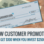 Groundfloor Real Estate Lending Marketplace $100 Investor Account Bonus