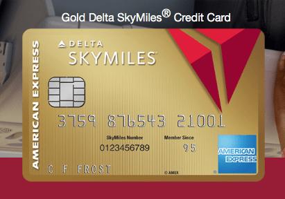 Gold Delta SkyMiles Credit Card