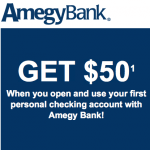 Amegy Bank $50 Personal Checking and $50 Referral Bonuses in Texas