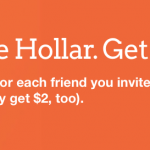 Hollar Cool Stuff Shopping Deals $2 Free Credit and $2 Referrals