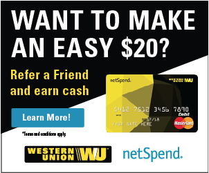 Western Union Prepaid Kreditkarte