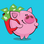 Piggy Coupon and Cash Back Browser App $15 Bonus and up to $25 Referrals