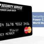 Security Service Power Cash Back Credit Card $100 Bonus