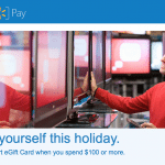 Walmart Pay $20 Free Gift Card with $100 AmEx Card Spend (Plus $10 Extra with Walmart Credit Card)