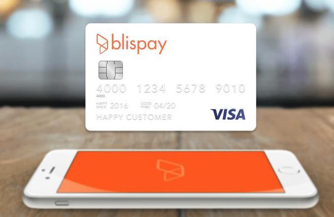 Blispay Visa Card
