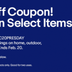 eBay Coupon Code Discount: 20% Off $25 Promotion