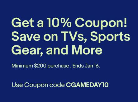 eBay Savings TVs Sports Gear