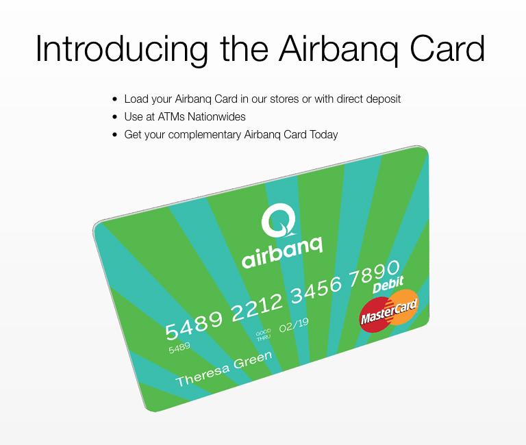 Akimbo Airbanq Prepaid MasterCard