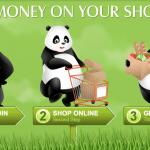 Panda Cash Back $5 Sign-Up Bonus and 25% Referral Rewards
