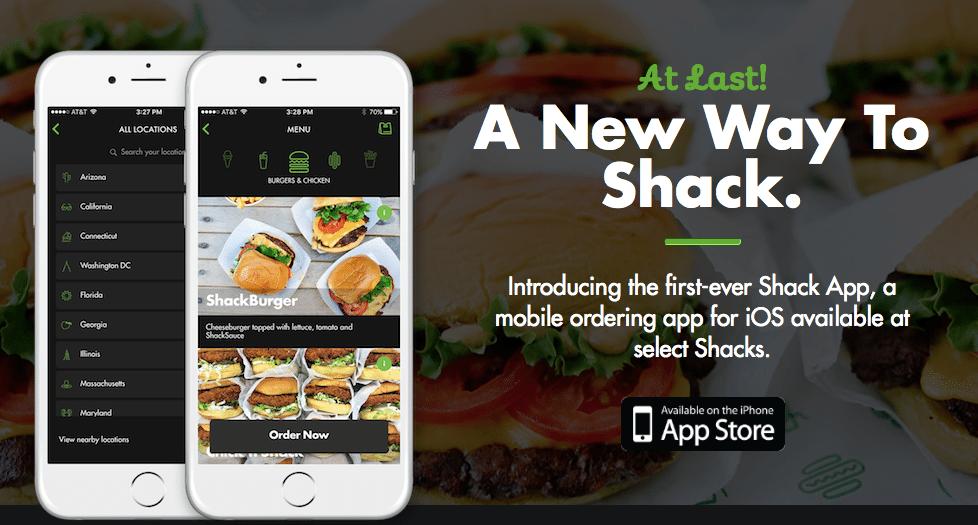 Shake Shack App Free Single ShackBurger
