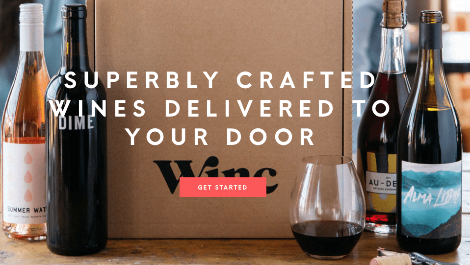 Winc Wine Club referral $13 discount and coupon; free bottle of wine