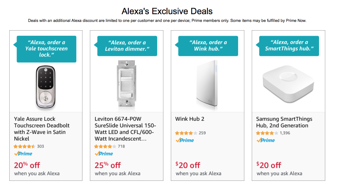 Alexas Exclusive Deals for Savings on Amazon
