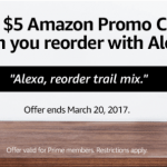 Amazon Alexa Exclusive Deals and $5 Credit to Reorder Any Item ($5+) – Prime Members
