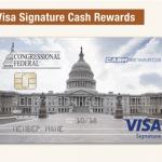 Congressional Federal Cash Rewards Credit Card $100 Bonus Offer