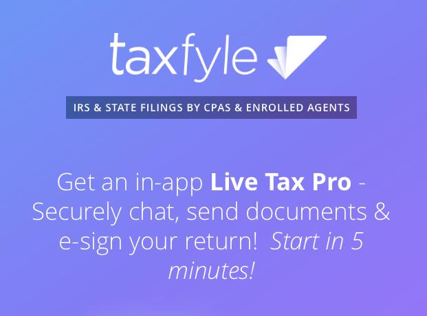 Taxfyle On-Demand Tax Filing Service