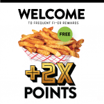 BurgerFi Frequent Fi-Er Loyalty Program Free Regular French Fries