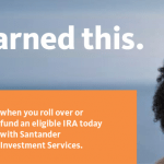 Santander Investment Services IRA up to $600 Cash Bonus
