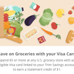 Trim Savings – Automated Statement Credits on Visa Card Spend ($40 Bonus)