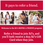 BJs Inner Circle Membership Referrals