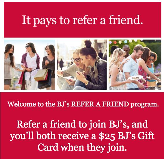 BJs Inner Circle Membership Referrals