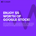 DriveWealth Dollar-Based Investing Service – $5 Free Google Stock Promotion