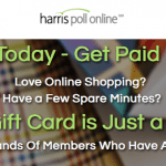 ShopTracker (Harris Poll Online) $3 Sign-Up Bonus and $3 Monthly Payments