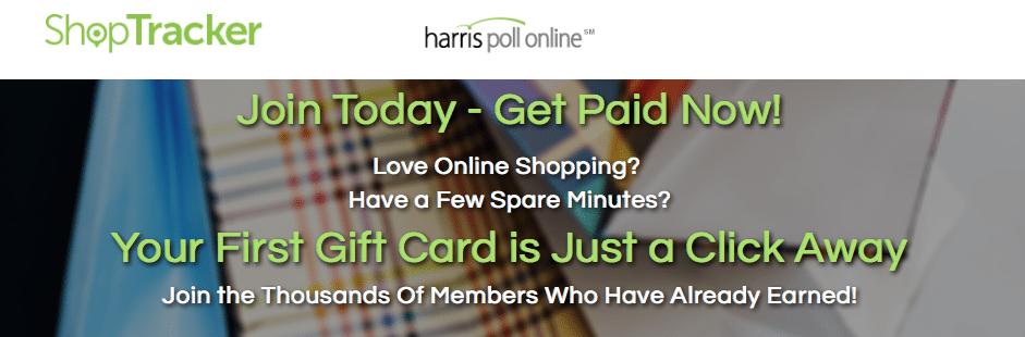 ShopTracker Harris Poll Online