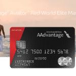 AAdvantage Aviator Red World Elite Mastercard 50,000 Bonus Miles