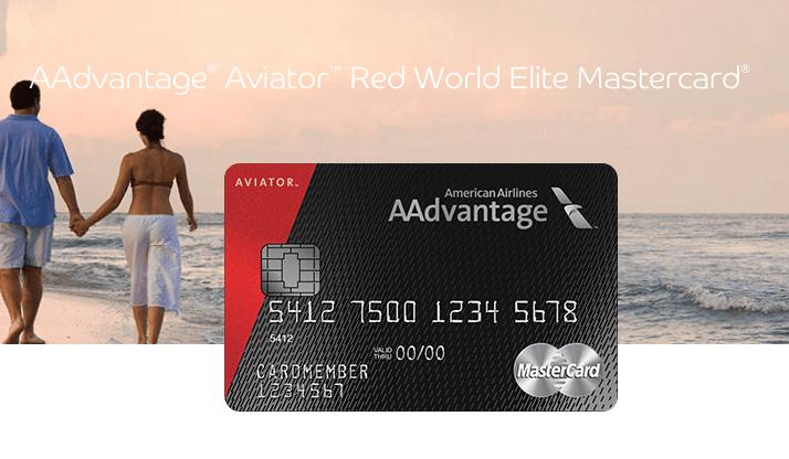 Aadvantage Aviator Red World Elite Mastercard 50 000 Bonus