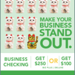 American Savings Bank $250 or $100 Business Checking Account Bonus – Hawaii
