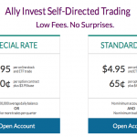 Ally Invest Self-Directed Trading – Reduced Pricing Promotion