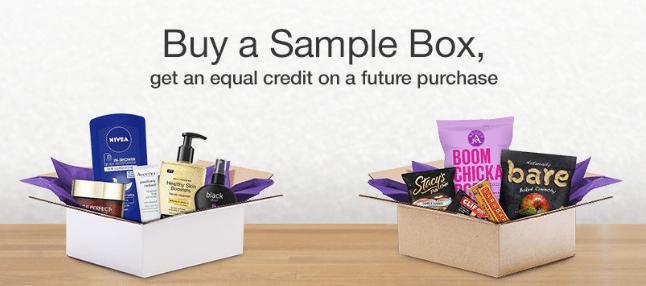 Free Amazon Prime Samples Boxes