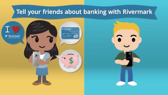 Rivermark Community Credit Union in Oregon $50 Refer A Friend Rewards