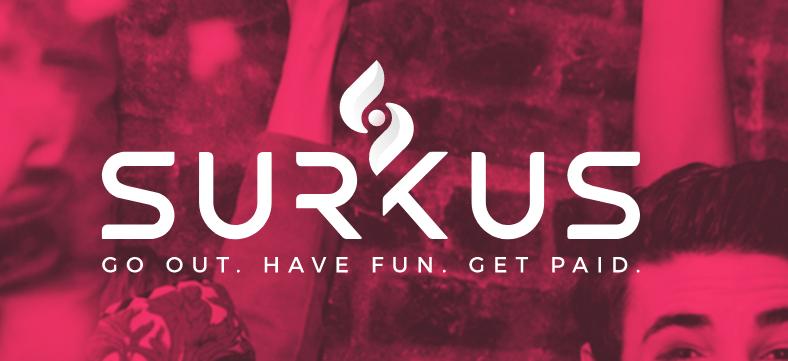 Surkus App Get Paid To Party