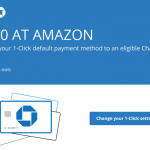 $10 Amazon Discount to Change Default Payment Method to Chase Card