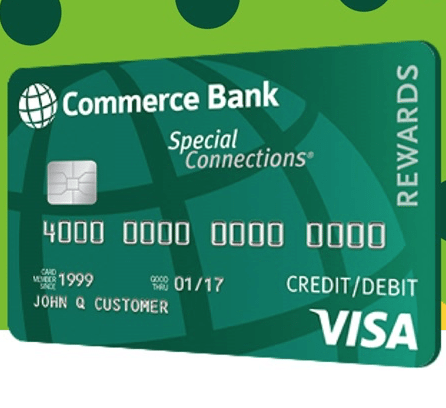 Commerce Bank Special Connections Rewards Credit Card