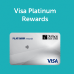 DuPage Credit Union Visa Platinum Rewards Credit Card