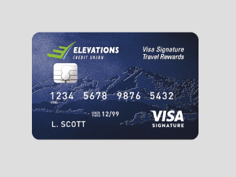 Elevations CU Travel Rewards Credit Card