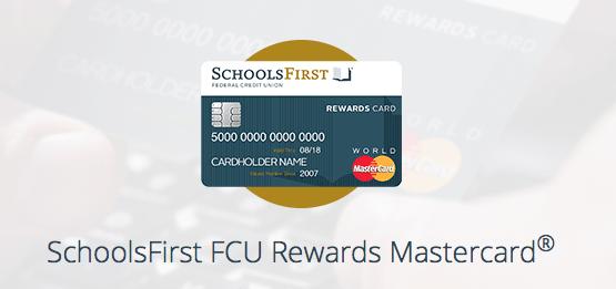 SchoolsFirst FCU Rewards MasterCard Credit Card