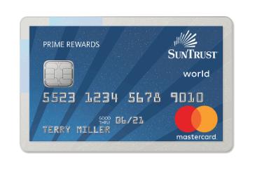 SunTrust Prime Rewards Credit Card $100 Bonus and 3 Year