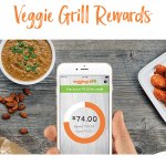 Veggie Grill Rewards $5 Free Credit and $5 Referral Bonuses