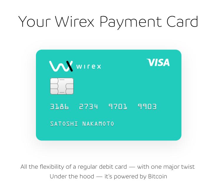 Wirex Bitcoin Payment Card