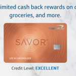 Savor Credit Card from Capital One