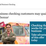 Wells Fargo Business Checking Account Bonus Offer Codes