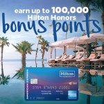 Hilton Honors American Express Credit Cards: Up to 100,000 Bonus Points