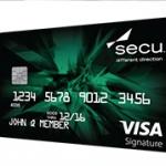 SECU Visa Signature Credit Cards