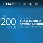 Chase Bank Business Savings Account Promotion