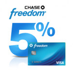 Chase Freedom 5% Cash Back Rebate Categories