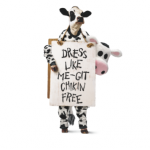 Chick-fil-A Restaurants Cow Appreciation Day